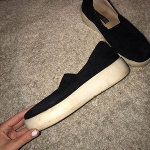 Steve Madden platform slip on shoes✨